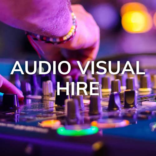 audio visual services and technology rentals