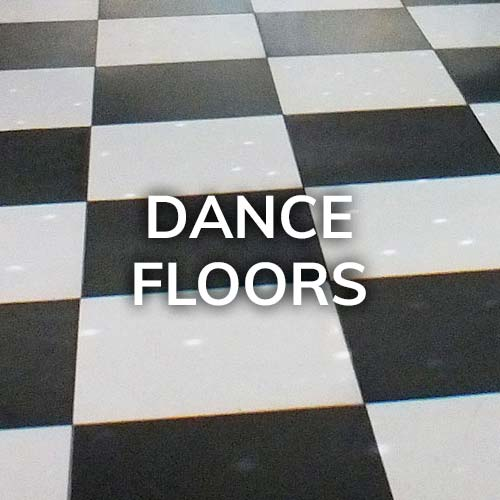 dance floors and other rental products