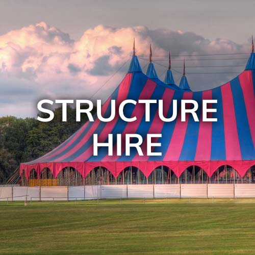 Tents and other structure hire